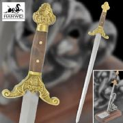 Qing Sword Letter Opener With Presentation Box & Stand